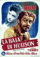 Hudson's Bay - Italian Movie Poster (xs thumbnail)