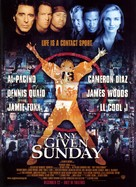 Any Given Sunday - Movie Poster (xs thumbnail)