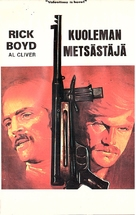 Death Hunt - Finnish VHS movie cover (xs thumbnail)