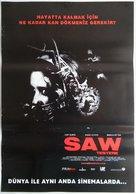 Saw - Turkish Movie Poster (xs thumbnail)