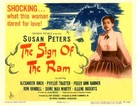 The Sign of the Ram - Movie Poster (xs thumbnail)