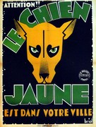 Chien jaune, Le - French Movie Poster (xs thumbnail)