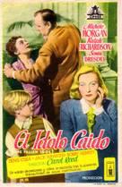 The Fallen Idol - Spanish Movie Poster (xs thumbnail)