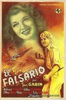 The Impostor - Spanish Movie Poster (xs thumbnail)