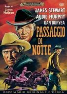 Night Passage - Italian DVD movie cover (xs thumbnail)