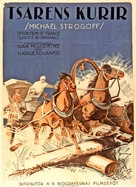 Michel Strogoff - Swedish Movie Poster (xs thumbnail)