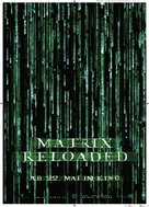 The Matrix Reloaded - German Movie Poster (xs thumbnail)