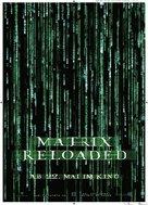 The Matrix Reloaded - German Movie Poster (xs thumbnail)