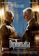 Diplomatie - Finnish Movie Poster (xs thumbnail)