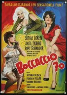 Boccaccio '70 - Swedish Movie Poster (xs thumbnail)