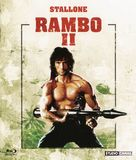 Rambo: First Blood Part II - French Blu-Ray movie cover (xs thumbnail)