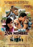 Sin Nombre - German Movie Poster (xs thumbnail)