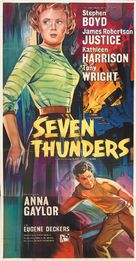 Seven Thunders - British Movie Poster (xs thumbnail)