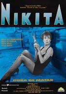 Nikita - Spanish Movie Poster (xs thumbnail)