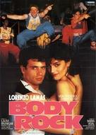 Body Rock - German Movie Poster (xs thumbnail)
