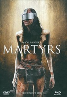 Martyrs - German Blu-Ray cover (xs thumbnail)