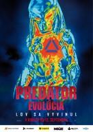 The Predator - Slovak Movie Poster (xs thumbnail)