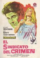 Murder, Inc. - Spanish Movie Poster (xs thumbnail)