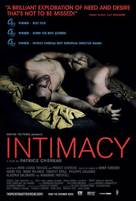 Intimacy - Movie Poster (xs thumbnail)
