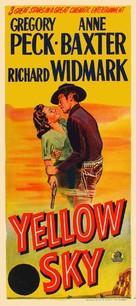 Yellow Sky - Australian Movie Poster (xs thumbnail)