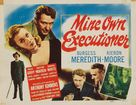Mine Own Executioner - Movie Poster (xs thumbnail)