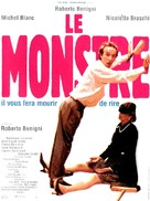 Il mostro - French Movie Poster (xs thumbnail)