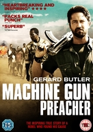 Machine Gun Preacher - British DVD movie cover (xs thumbnail)