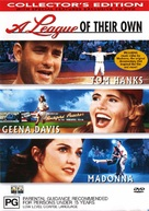 A League of Their Own - Australian DVD movie cover (xs thumbnail)
