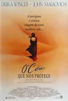 The Sheltering Sky - Brazilian Movie Poster (xs thumbnail)