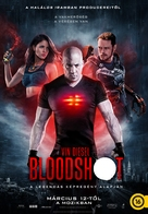 Bloodshot - Hungarian Movie Poster (xs thumbnail)