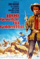 The Plainsman - German Movie Poster (xs thumbnail)
