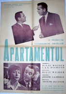 The Apartment - Romanian Movie Poster (xs thumbnail)