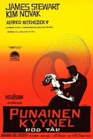 Vertigo - Finnish Movie Poster (xs thumbnail)