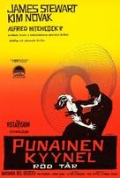 Vertigo - Finnish Movie Poster (xs thumbnail)