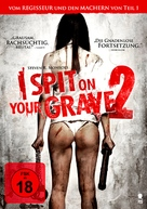 I Spit on Your Grave 2 - German DVD movie cover (xs thumbnail)
