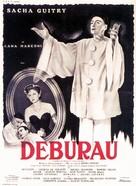 Deburau - French Movie Poster (xs thumbnail)