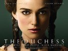 The Duchess - British Movie Poster (xs thumbnail)