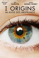 I Origins - German DVD cover (xs thumbnail)