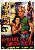 I misteri della giungla nera - Belgian Movie Poster (xs thumbnail)