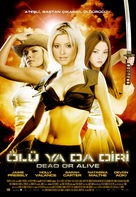 Dead Or Alive - Turkish Movie Poster (xs thumbnail)