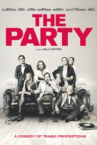 The Party - British Movie Cover (xs thumbnail)