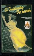 The Initiation of Sarah - Brazilian VHS cover (xs thumbnail)