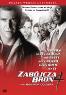 Lethal Weapon 4 - Polish DVD movie cover (xs thumbnail)