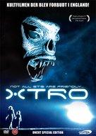 Xtro - Danish DVD cover (xs thumbnail)