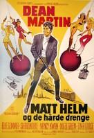 The Wrecking Crew - Danish Movie Poster (xs thumbnail)