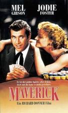 Maverick - German Movie Cover (xs thumbnail)