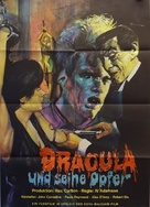Blood of Dracula's Castle - German Movie Poster (xs thumbnail)