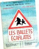 Les ballets écarlates - French Movie Poster (xs thumbnail)