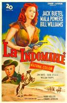 Rose of Cimarron - Argentinian Movie Poster (xs thumbnail)