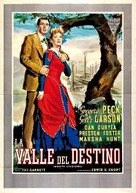 The Valley of Decision - Spanish Movie Poster (xs thumbnail)